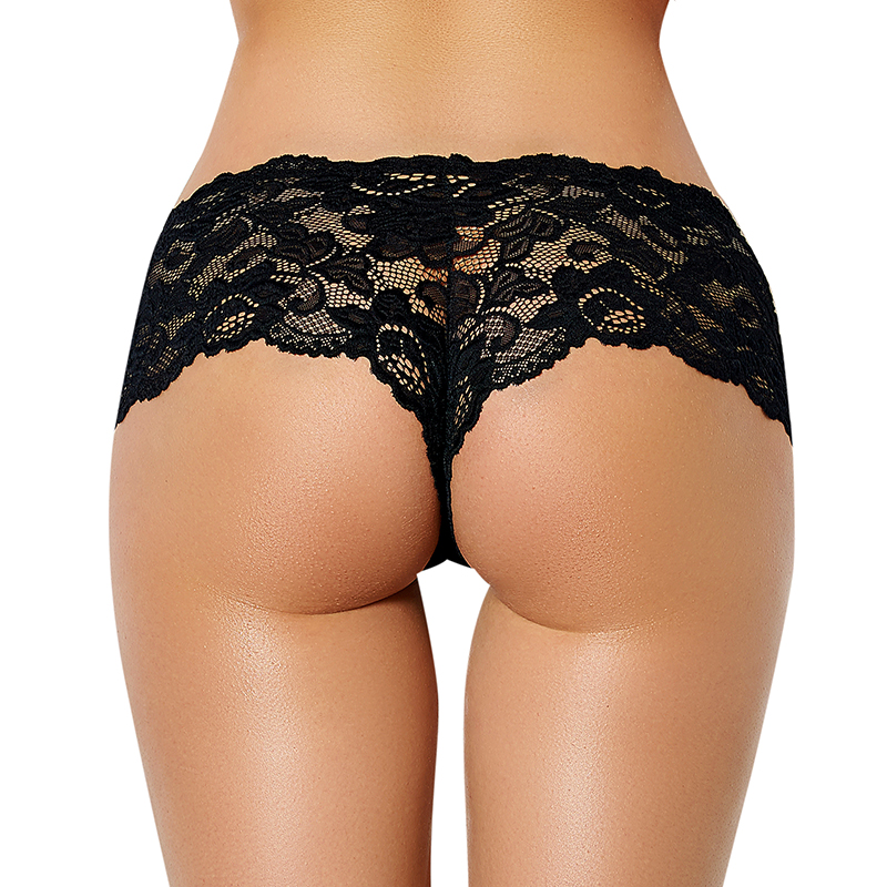 <font><b>Sexy</b></font> Women Underwear Plus Size Seamless Lace Panties <font><b>6XL</b></font> 5XL Transparent Thin Knicker Women Underpants Culotte En Dentelle S5059 image