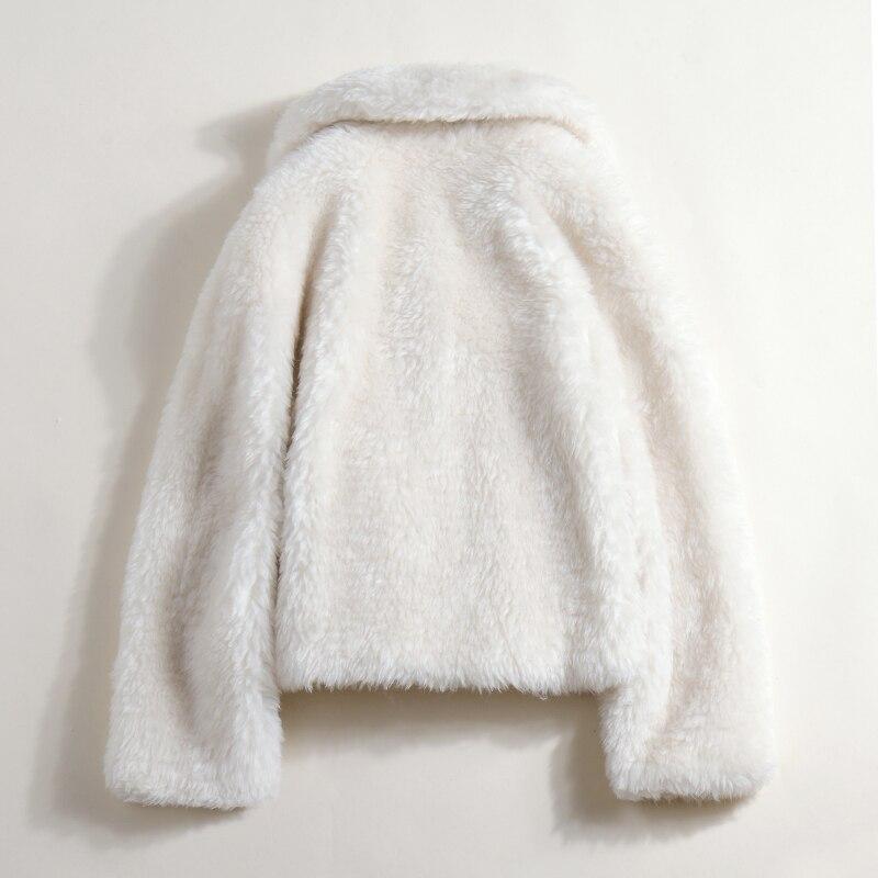 Vestes La Vraie Manteau Veste De D'hiver Femmes Laine Manteaux Mouton Beige Femme Fourrure Des W0zS6xwqw