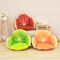 Lovely 3D Fruit Funny Chair Cushion For Home Sofa Decoration Soft Thicken Office School Chair Pad