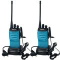 2 unids transceptor walkie talkie retevis rt7 uhf400-470mhz 16ch fm radio scan amateur radio de dos vías portable práctico set a9111l