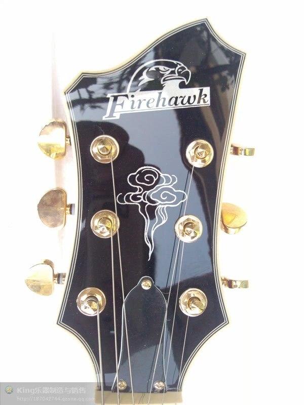China firehawk OEM shop G Electric Guitar Accept custom any guitar