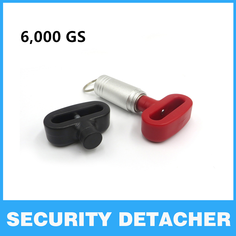 EAS 5000gs Magnetic Tag Remover Portable Manetic Bullet Security Tag Detacher Key Lockpick Anti-theft EAS system protection
