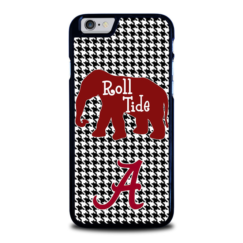 ALABAMA CRIMSON TIDE HOUNDSTOOTH 1 Cover Case for iphone 4 4S 5 5S 5C SE6 6s