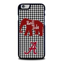 Alabama Crimson Tide Хаундстут 1 чехол для iPhone 4 4S 5 5S 5C SE6 6S 6 Plus 6S плюс 7 7pus # BA15