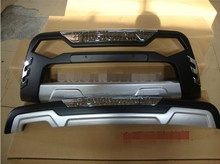 Suitable for Volkswagen Tiguan 2010-2012 high quality ABS plastic chrome plated front and rear bumper protective device