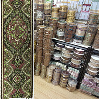 Green Complex Embroidery Tape For Bed Cover Rim Pillow Rim Quilt For Cover Edge For Curtain