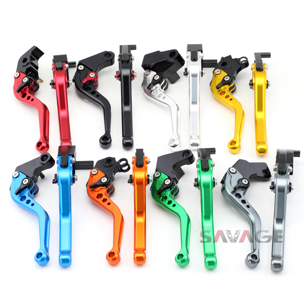 For <font><b>HONDA</b></font> <font><b>CBF1000</b></font>/A CB1100 CB1300 CB1300SF Motorcycle Adjustable CNC Aluminum Short/Long Brake Clutch Levers image
