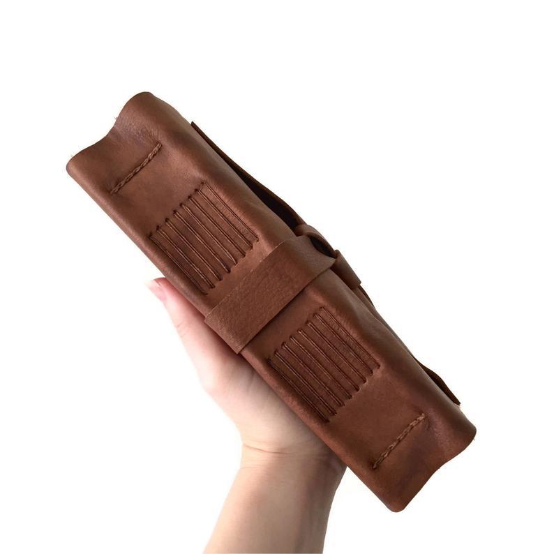 Voyage ce carnet de notes en cuir véritable rétro fait à la main en cuir de cheval fou livre carnet de notes en cuir de vachette peut être personnalisé