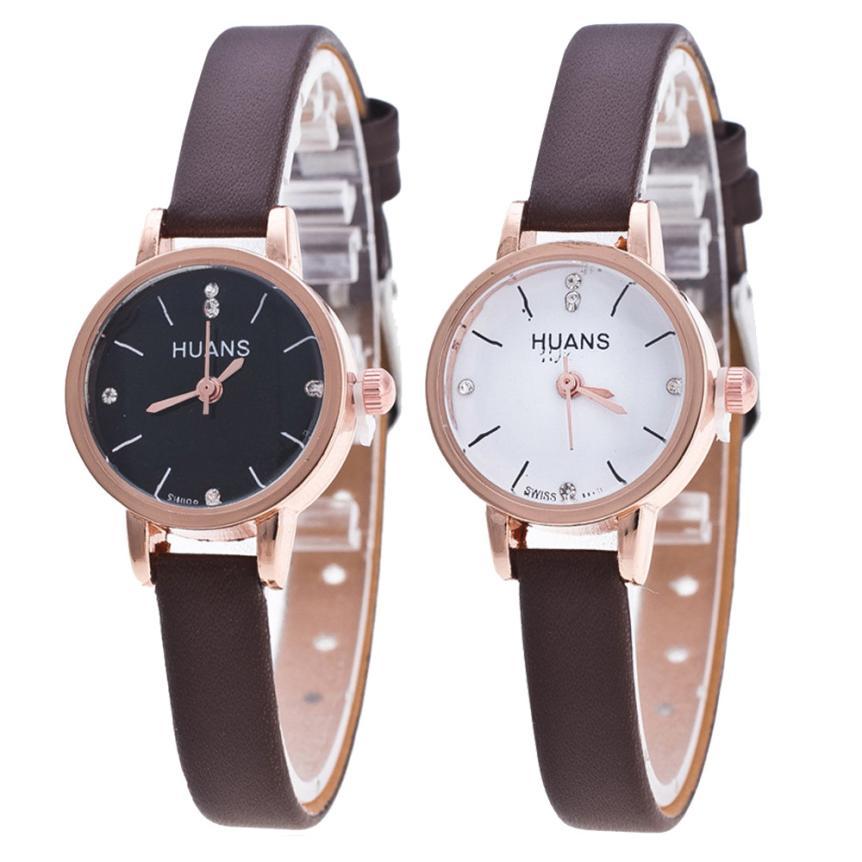 лучшая цена Female Models Fashion Thin Belt Rhinestone Belt Watch Popular Womens Watches Stylish simple casual Crystal montre femme watches
