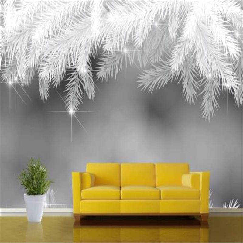 Modern 3D Custom Photo Wallpapers for Walls Murals Non-Woven Walls Papers Tree Branches Kids Murals for Living Room Home Decor modern embossed 3d wallpapers rolls luxury striped wallpapers non woven desktop wall papers home decor bedroom walls coverings
