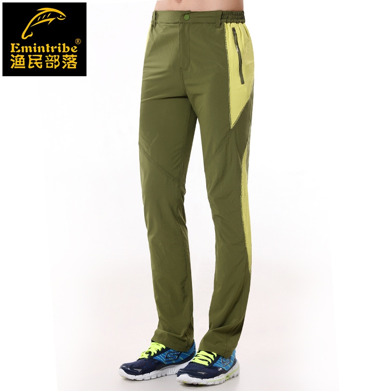 Men Pants spring summer autumn Outdoor Camping Quick Dry UV Resistant Active Pant Soprtwear windproof waterproof M-2XL - Lifes store