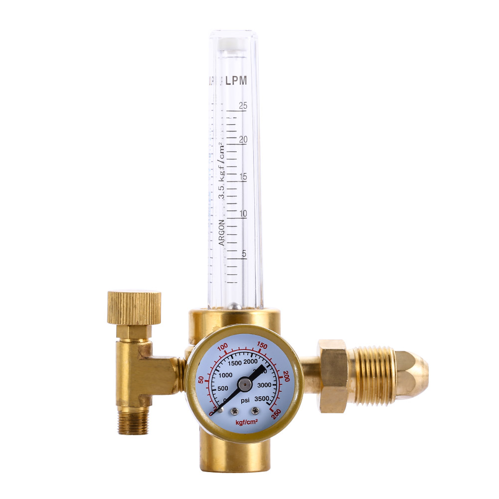 High Quality HTP Argon CO2 Mig Tig Flow Meter Regulator Flowmeter Welding Weld FREE SHIPPING Industrial Measuring Gauge Tool  цены