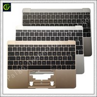 French Azerty Backlit Keyboard with palmrest for Macbook Retina A1534 12 Year 2016 2017 case topcase houseing box FR laptop