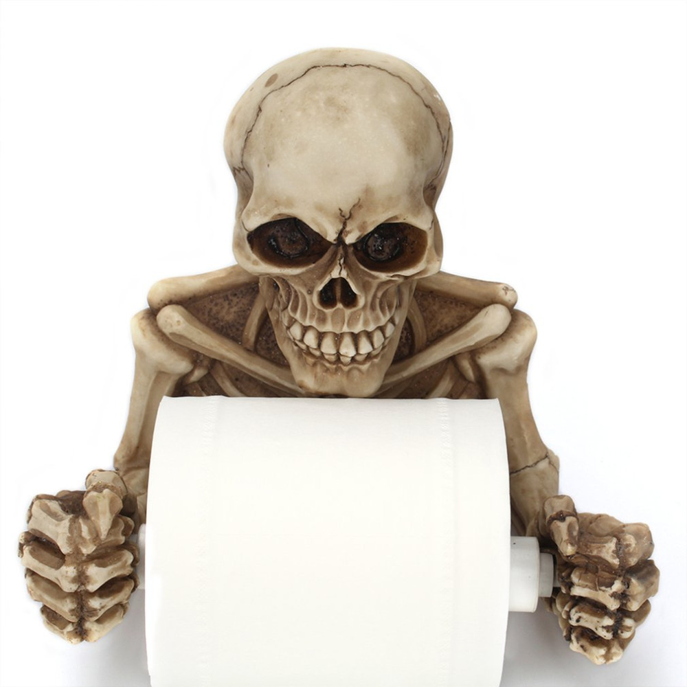 Halloween Creativity Toilet Paper Holder Hook Type Roll