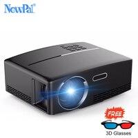 Newpal проектор GP80 LED проектор 1080p Full HD для домашнего кинотеатра 1800 люменов (Android WIFI Bluetooth опционально) Поддержка 4K TV Видео