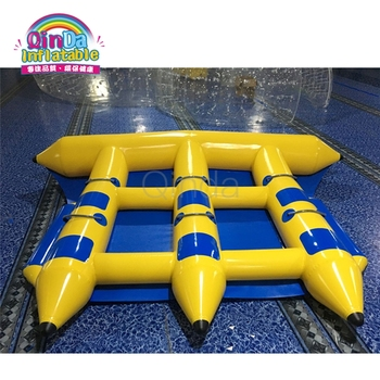 Venta De Juguetes Inflables De Agua Gigantes Baratos Banana Bote Inflable Pez Volador