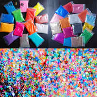 30 Bags 20G/Bag Fashion Popular Japanese Style Glitter AB Solid Shiny Colorful Design DIY Sweet Nail Art High Quality Decoration