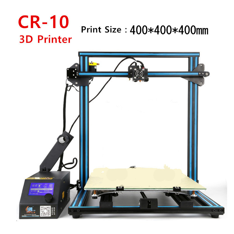 Max Size 400*400*400mm/500*500*500mm 3D Printer Full Metal Frame High Precisio With 1.75mm 3 D Printer Filament Free Shipping 400