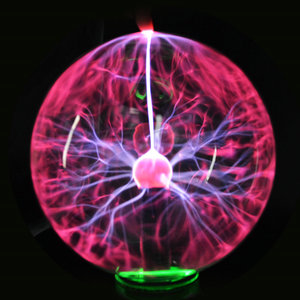 Image 4 - 3/4/5/6/8 Inch Alle Op Voorraad Crystal Plasma Bal Nachtlampje Magische Glazen Bol Nieuwigheid bliksem Bal Licht Plasma Tafellamp
