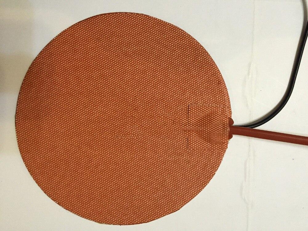 rotondo 350 mm 12 v 270 w silicone riscaldatore letto per kossel pro stampante 3d installare wih 100 k termistore e 3m nastro rotondo 240 mm 24 v 200 w silicone riscaldatore letto per kossel pro stampante 3d installare 3m nastro band heater electric heat