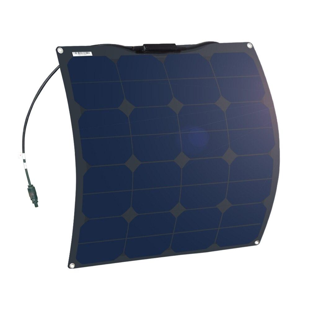 XINPUGUANG Flexível painéis solares bateria preto 50W