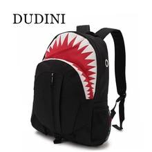 DUDINI Hot Sale Cute Cartoon Children Fashion Shark Backpack Cute Backpacks Boys And Girls  Travel Bags School Bag