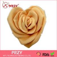 Rose herzförmige mutter und kind seife formenbau blumen silikonseifenform formen silikagel seifenformen