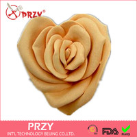 Rose Heart Shaped Mother And Child Soap Mold Design Flower Silicone Soap Mold Molds Silica Gel