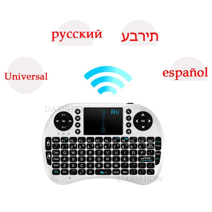 Mini անլար ստեղնաշար 2.4 գ touchpad փոքր - Համակարգչային արտաքին սարքեր - Լուսանկար 3