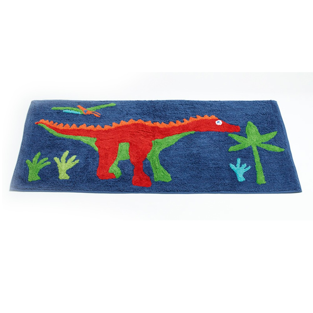 100% Cotton Floor Rug Cartoon Child Soft Kids Carpet Handmade Anti ...