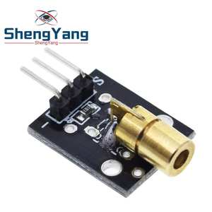 Smart Electronics New KY-008 3pin 650nm Red Laser Transmitter Dot Diode Copper Head Module
