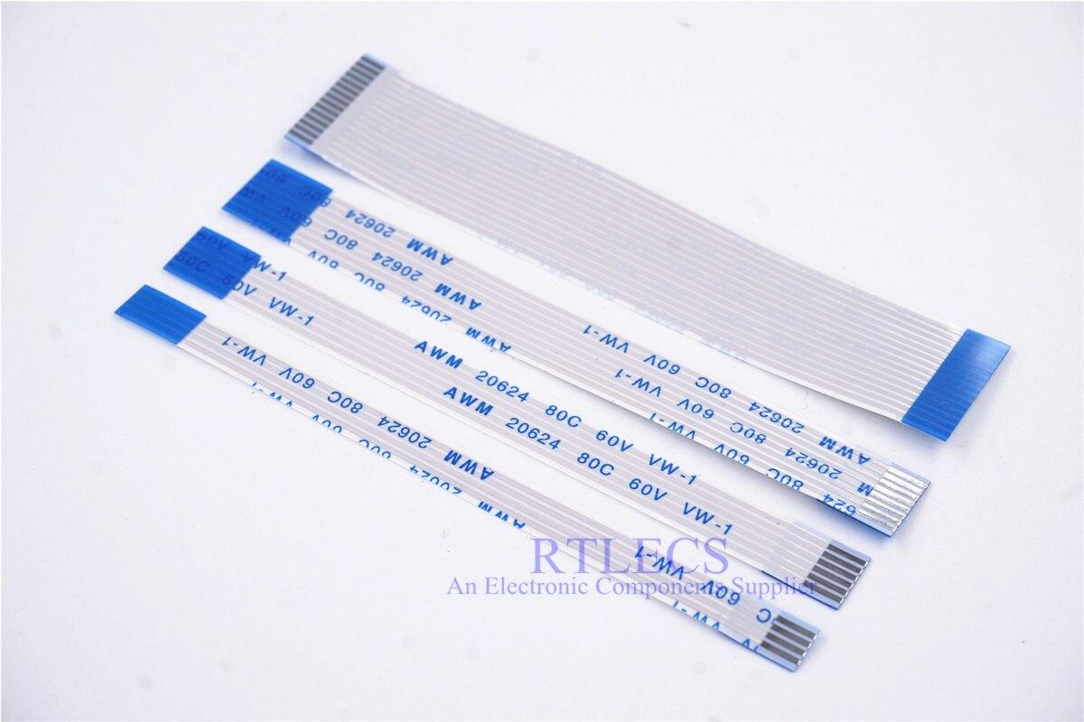 Computer Cables FFC//FPC Flat Soft Cable 0.5mm Pitch 40P Long 10//15//20CM Reverse Cable Length: 20cm 10pcs