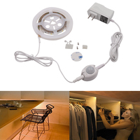 Motion Activated Sensor Bed Light Warm White 1 2M LED Strip Sensor Night Light 12V Cabinet