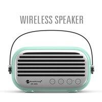 Pottable Bluetooth Speaker Micro SD Aux in Audio input USB input Microphone Handsfree Call Stereo Speaker Radio Bluetooth 4.0