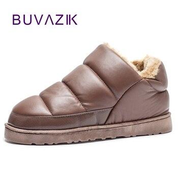 213cf84f Nowe męskie buty śniegu 2017 ciepłe pluszowe zagęścić zimowe botki na  zewnątrz mężczyźni buty w stylu casual botas hombre wodoodporne obuwie  rozmiar 46