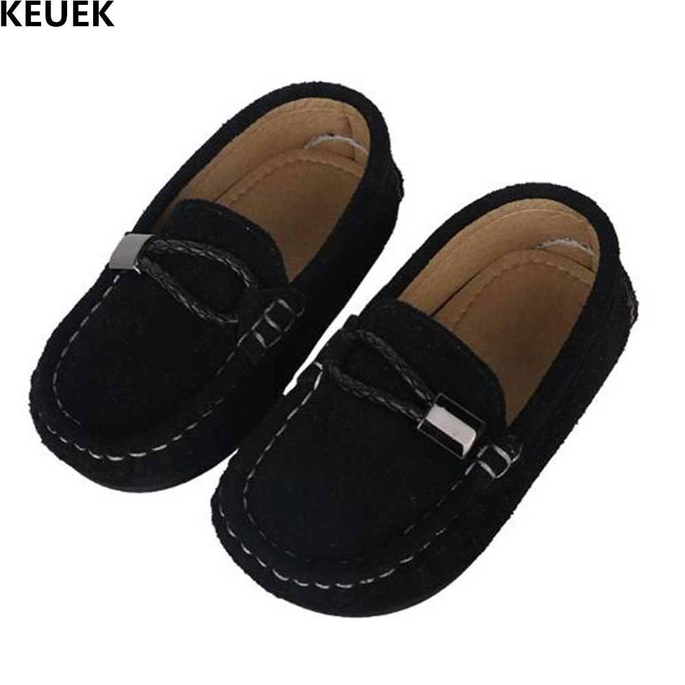 New Children Leather Shoes Boy British style Casual Flats Baby Toddler Genuine Leather Single Shoes Student Kids Loafers 02