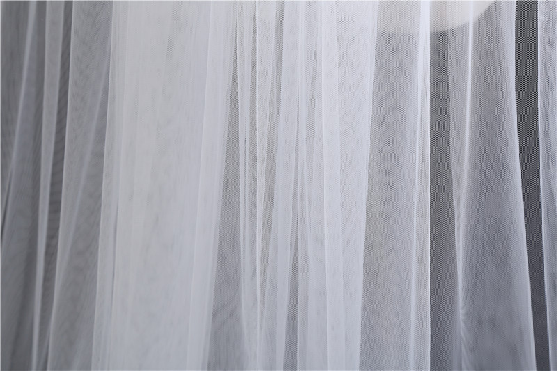 Купить с кэшбэком wedding veil two layers  bride veil  white 3 meter 5 meter long veu de novia Brief  veil for bride with comb church veils