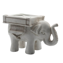 Elephant Shaped Candle Holder for Home Decor