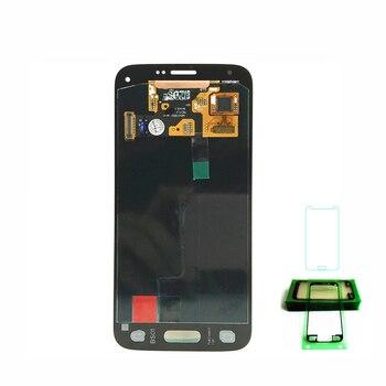 Display Lcd completo per Samsung Galaxy S5 Mini G800 G800F G800H Super AMOLED  1