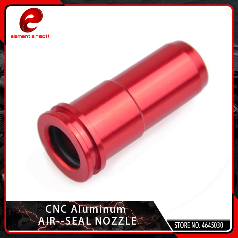 Element CNC Aluminum O-ring Air Seal M4 Nozzle For G36 G36c M4 M14 AK MP5 Airsoft AEG Shooting Paintball Accessories