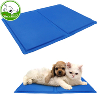 Pet Dog Self Cooling Chilly Mat Pad For Kennels Crates And Beds Folding Soft Comfort Bed