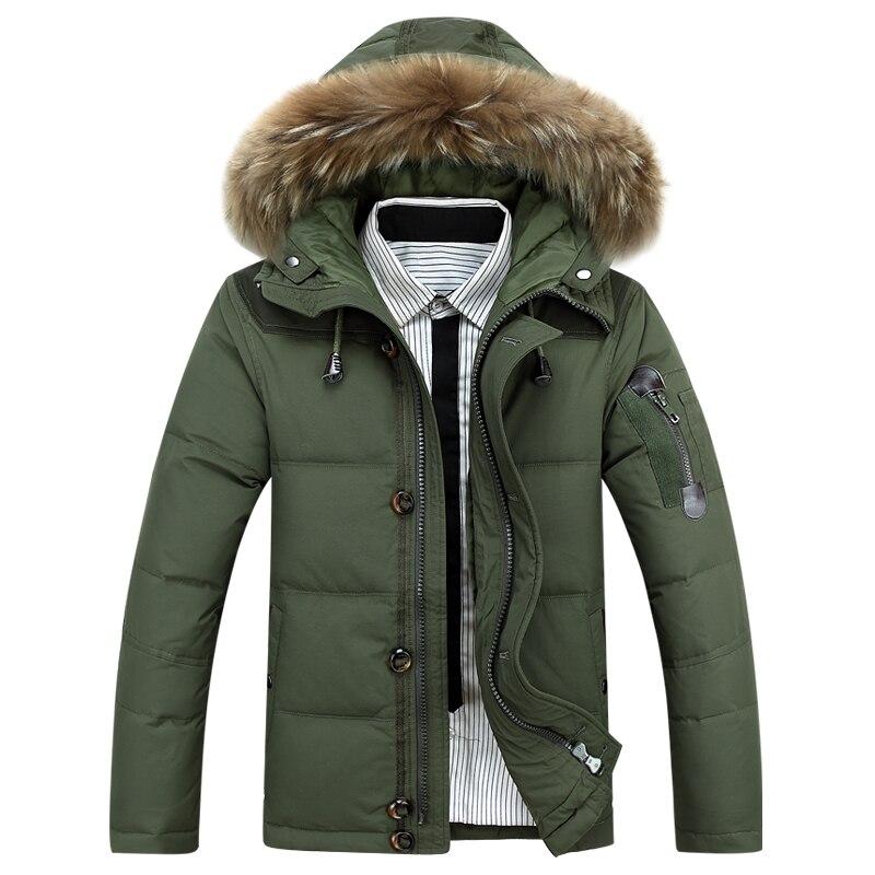 AFS джип Для мужчин зимние толстовки куртка теплая Для мужчин пальто парки Зимняя хлопковая стеганая пуховик военный мужской пальто с мехом ...