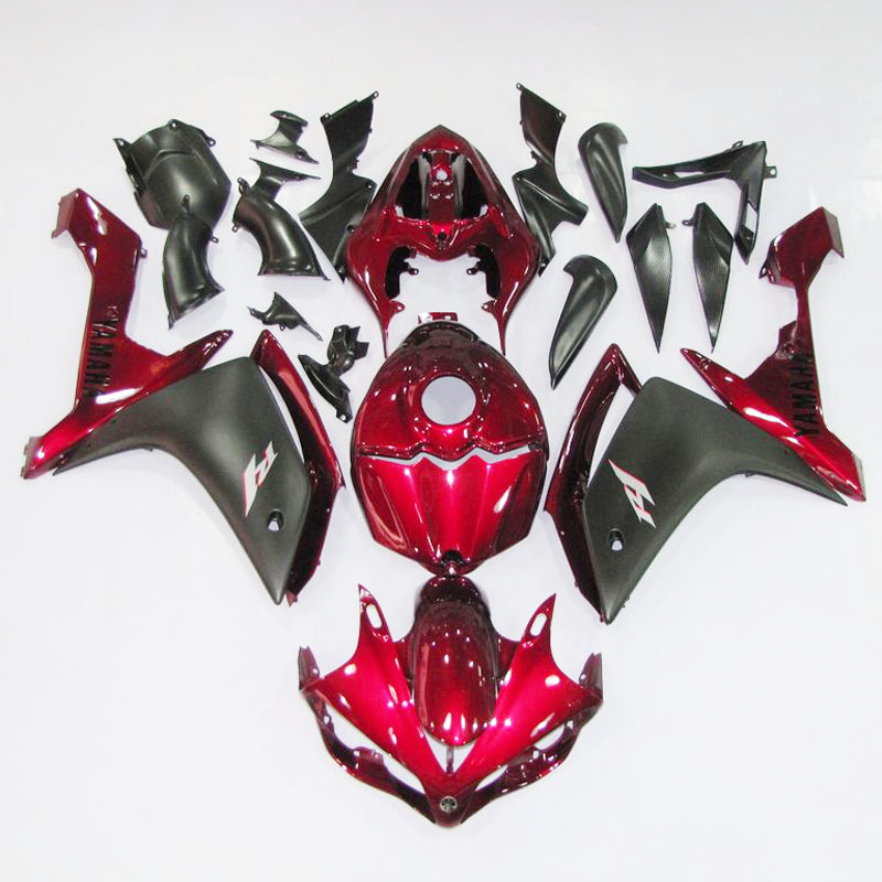 Injection ABS Full Fairing Kit Bodywork for Yamaha YZFR1 YZF R1 07 08 2007 2008
