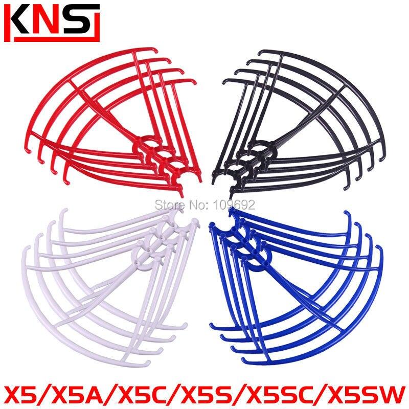 16PCS Blades Protection Frame Guard Syma X5 X5C X5C-1 X5SC X5SW Propeller Protectors RC Quadcopter Accessories Drone Spare Parts