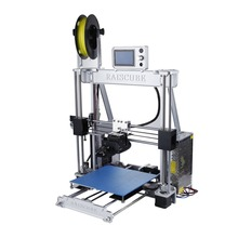 High Precision Aluminum Alloy Frame 3D Printer Large Printing Size 210*210*225mm Single Extruder EU Plug
