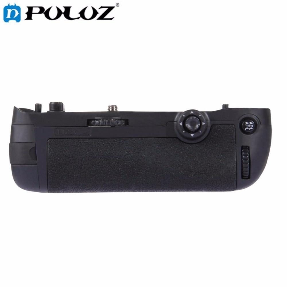 PULUZ Vertical Camera Battery Grip for Nikon D750 Digital SLR Camera Replacement MB-D16 as EN-EL15 Battery