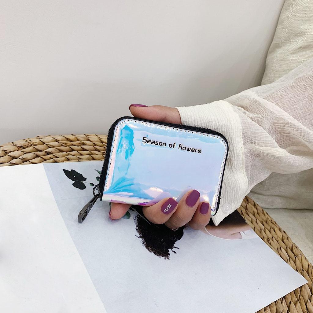 Womens Wallets And Purses Fashion Multicolor Casual Coin Clurch Portafoglio Donna Billetera Mujer Carteira Feminina 2019