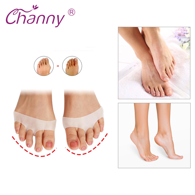 Silicone Gel Toe Soft Ballet Pointe Dance Shoes Pads Foot Care Protector High Heels Toe Pads Gel Orthopedic Massager Pedi Foot File Pedicure File From