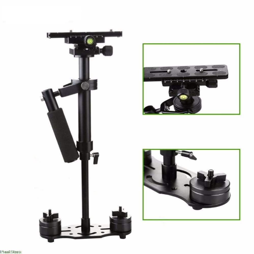S40 S60 S80 Steadycam Scalable Carbon Fiber Handheld Stabilizer Steadicam For Canon Nikon Sony DSLR Camera Compact Camcorder