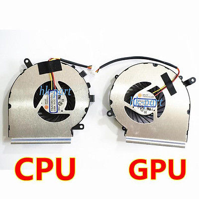 NEW For MSI MS-16J2 MS-16J1 MS-16J5 MS-1792 MS-1795 MS-1791 CPU+GPU Fan PAAD06015SL,Free shipping